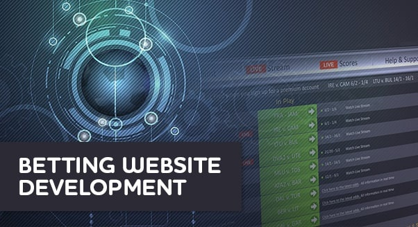 توسعه و راه اندازی وبسایت شرط بندی